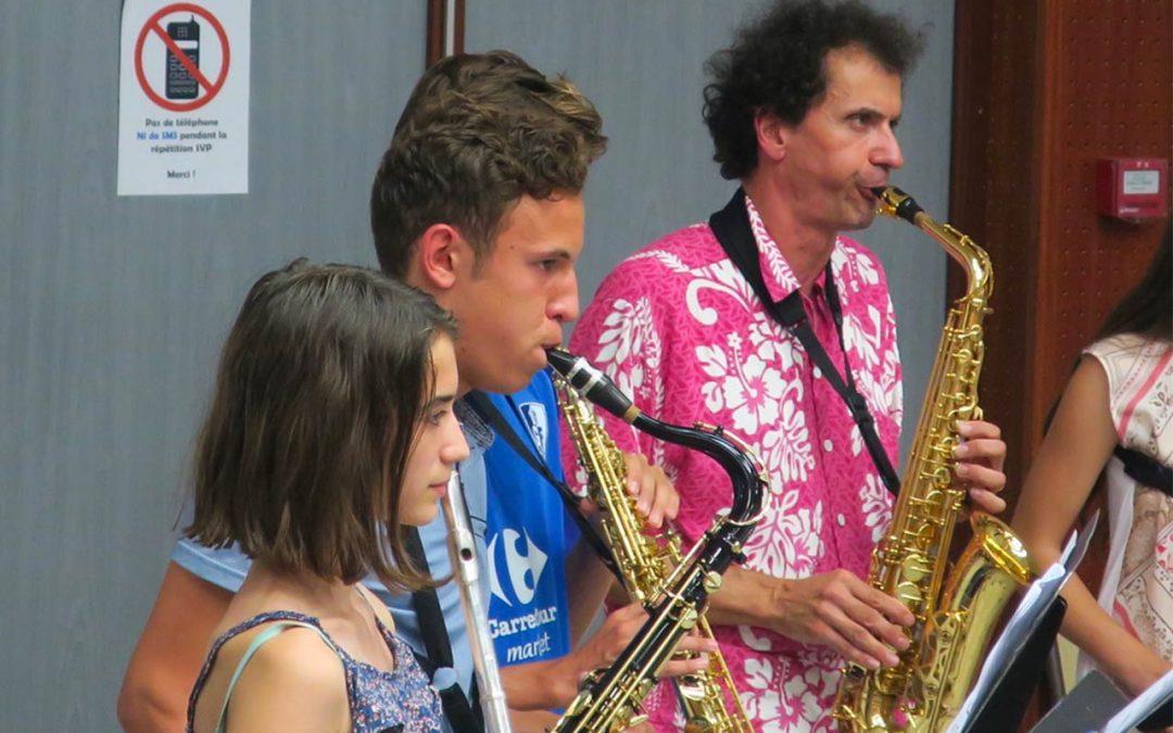 Pratiques artistiques inter – écoles de musique